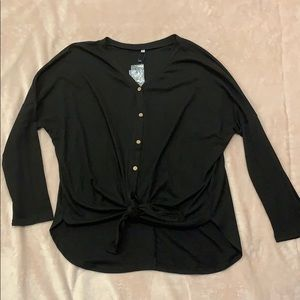 Tie front thermal